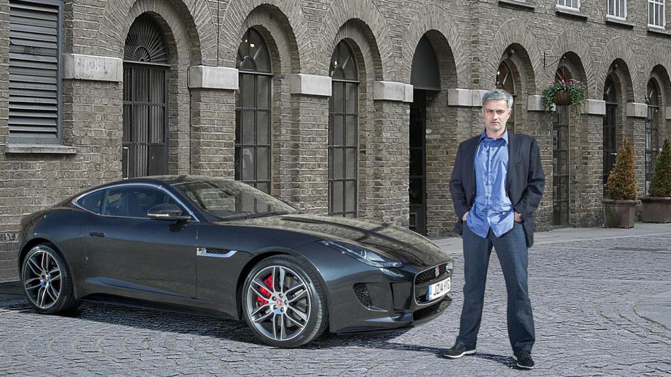 José Mourinho ya disfruta de su Jaguar F-Type R Coupé