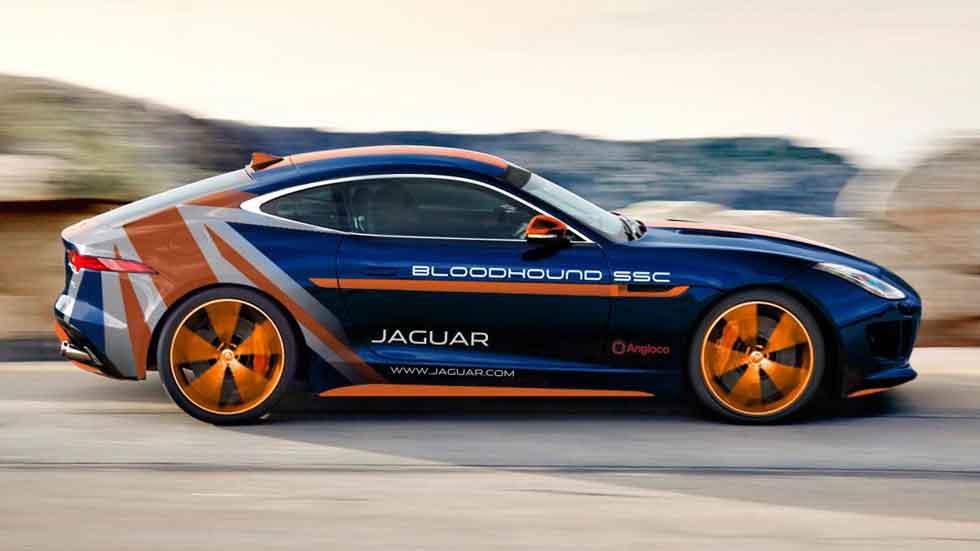 Jaguar F-Type R Bloodhound SSC Rapid Response, homenajeando un record de velocidad