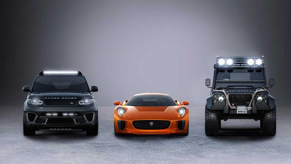 Jaguar Land Rover protagonizará Spectre, la nueva película de James Bond