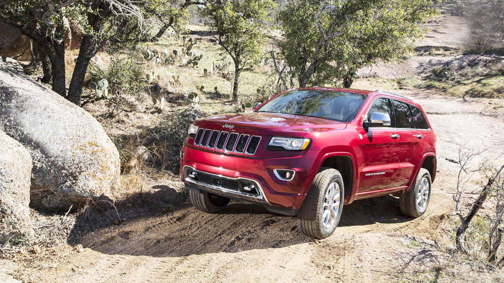 Jeep Grand Cherokee y Grand Cherokee SRT 2015, fuerza bruta americana