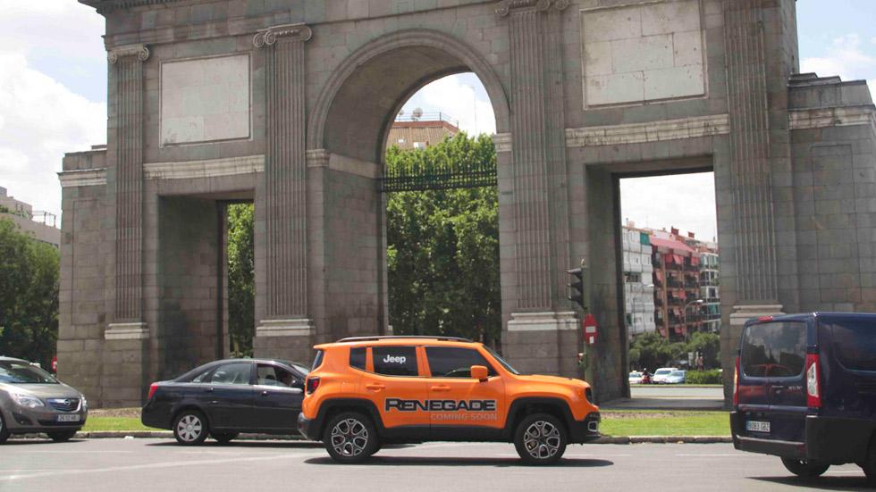 El nuevo Jeep Renegade se dejó ver por Madrid