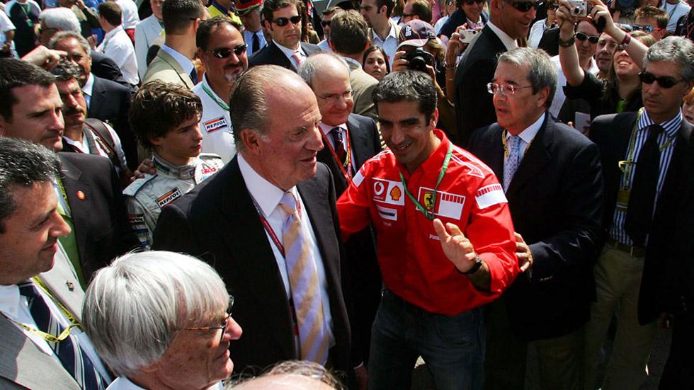 Juan Carlos I, el mayor aficionado a la F1. Vídeo
