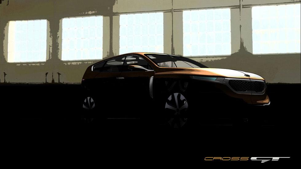 Kia Cross GT, el hermano mayor del Sorento
