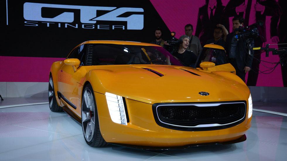 Nuevo Kia GT4 Stinger, picante deportividad