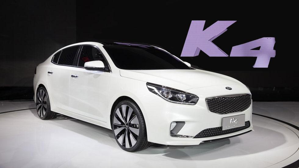 Kia K4, nueva berlina para el mercado chino