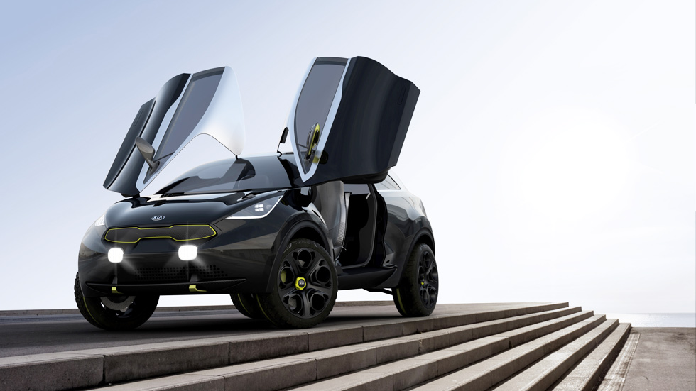 Kia Niro Concept, ¿nuevo SUV urbano-coupé?