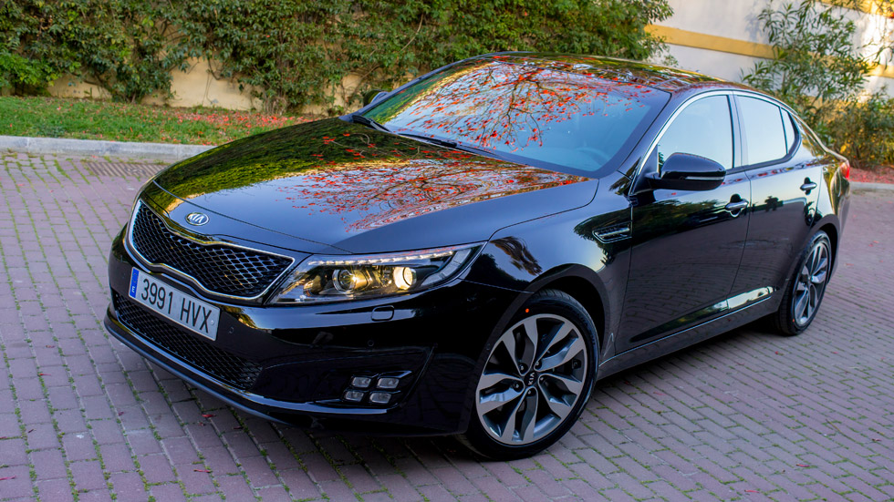 Kia Optima, la berlina multiusos