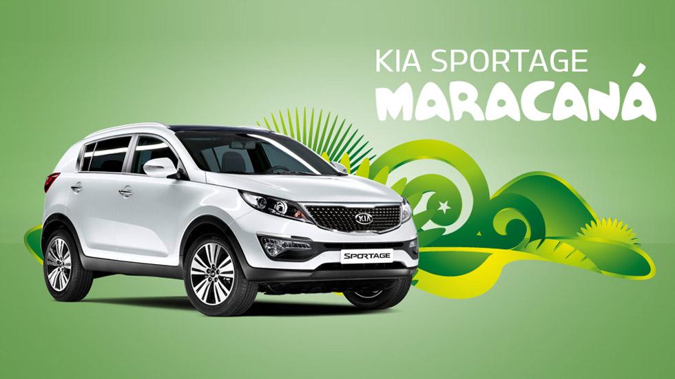 Kia Sportage Maracaná, SUV a ritmo de samba