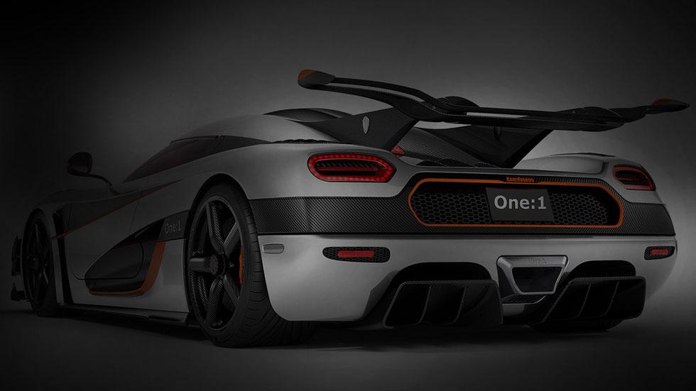 Koenigsegg One:1, 450 km/h de velocidad máxima