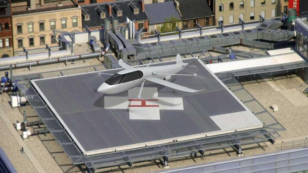 Krossblade's SkyCruiser: helicóptero, avión y coche en uno