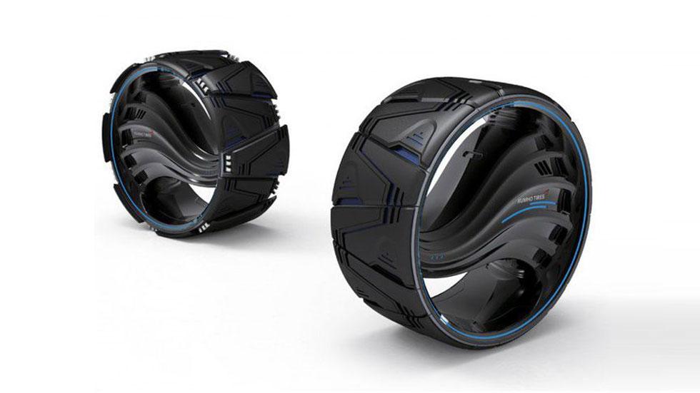 Kumho Maxplo, el neumático que cambia su forma