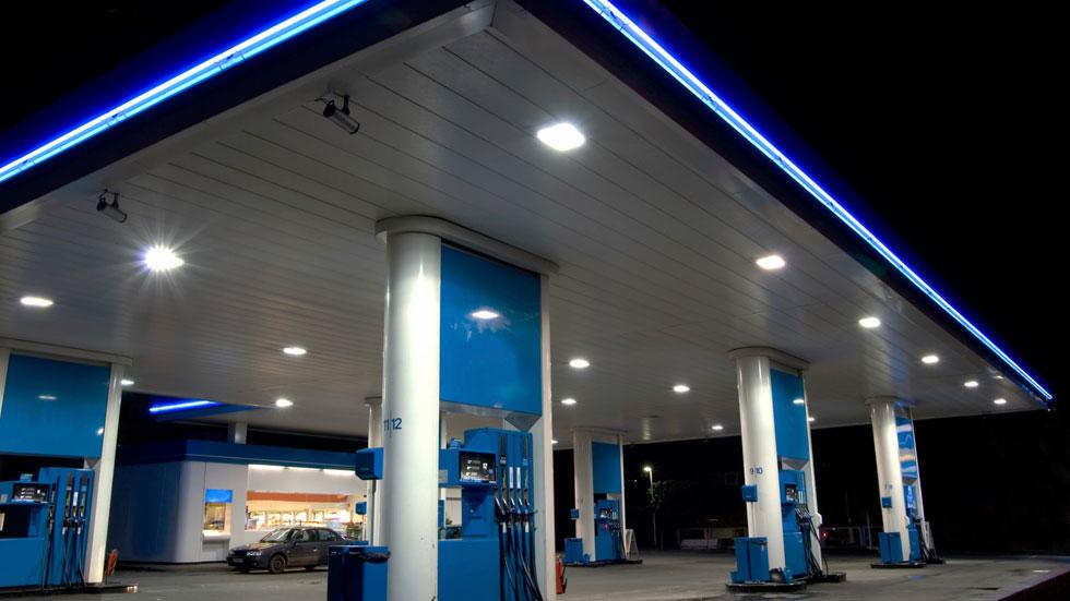 La gasolina, en precios máximos