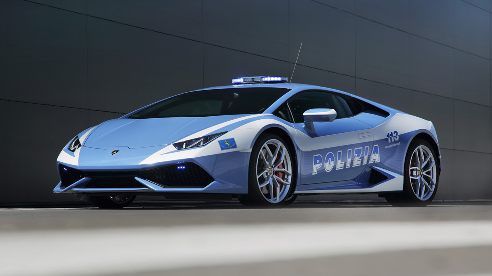 La Policía italiana contará con un Lamborghini Huracan