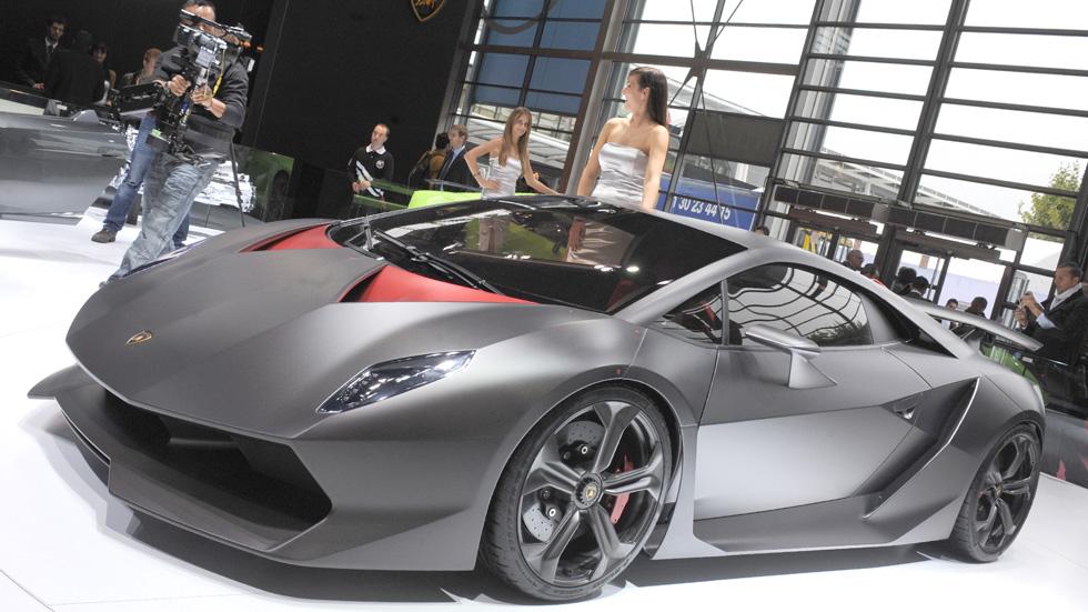 Lamborghini Sesto Elemento, de otro planeta