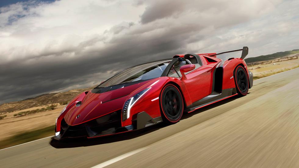 Lamborghini Veneno Roadster, el toro de los 3,3 millones