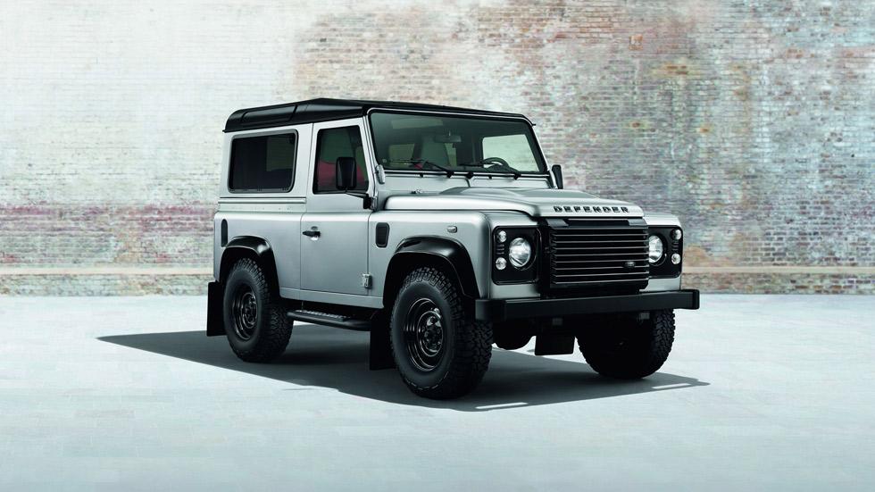 Land Rover Defender Black Pack y Silver Pack