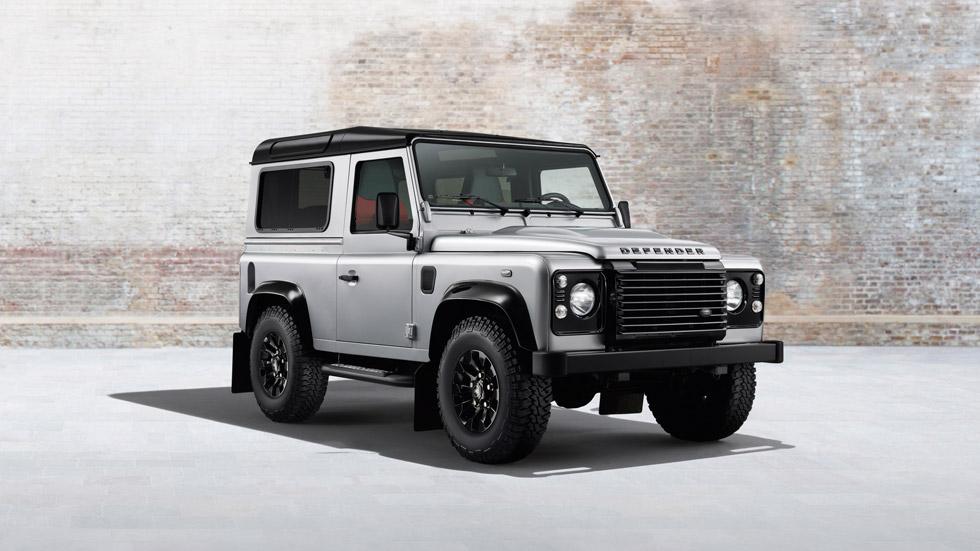 Land Rover Defender 'Black Pack' y 'Silver Pack', equipamiento de lujo