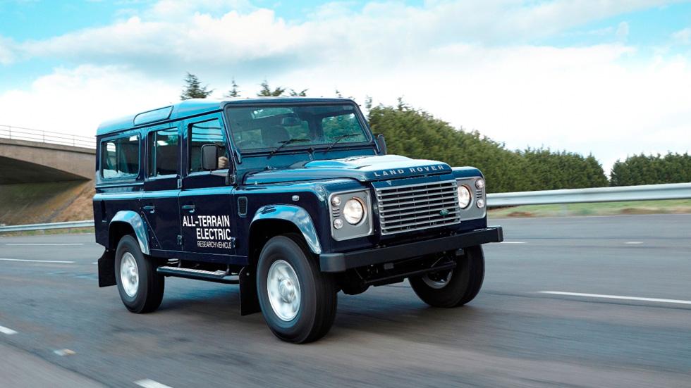 Land Rover Defender eléctrico: el 4x4 más verde