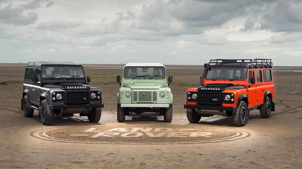 Land Rover Defender: nuevas ediciones para despedir al mito
