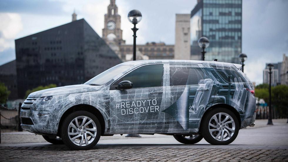 Land Rover Discovery Sport, ahora con siete plazas