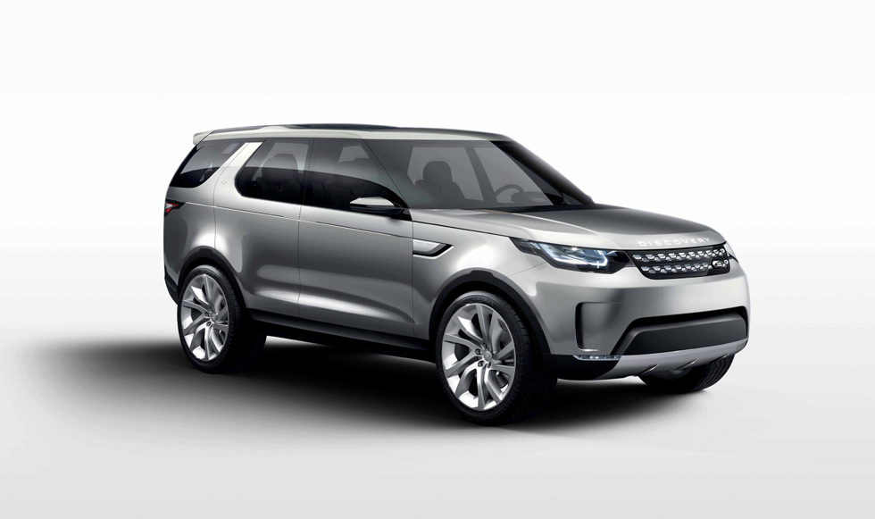 Land Rover Discovery Vision Concept: con capó invisible