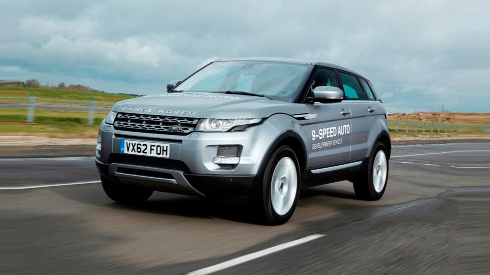 Land Rover y ZF: primer cambio automático de 9 marchas