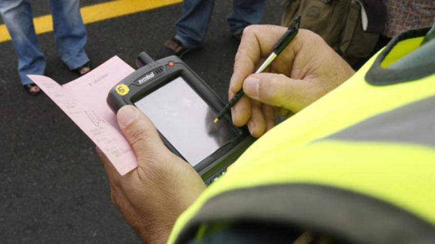 Las multas se pueden seguir pagando en carretera