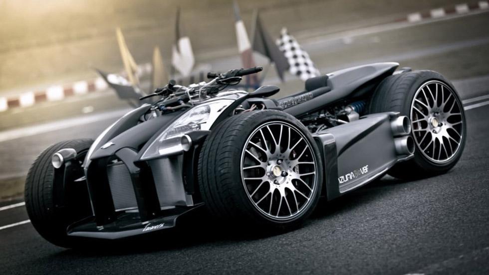 Lazareth Wazuma V8F: un quad mitad Ferrari, mitad BMW M3