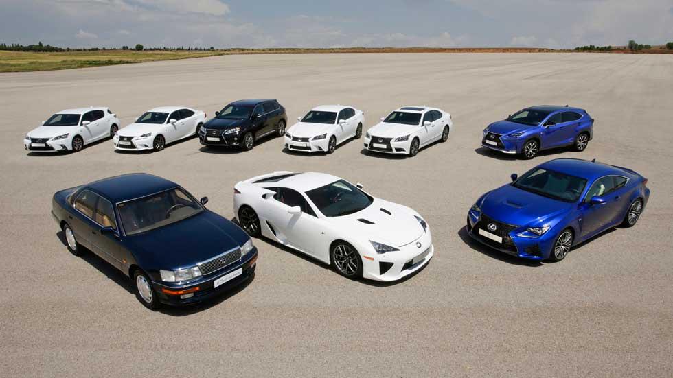 Lexus, 25 años apostando por la calidad