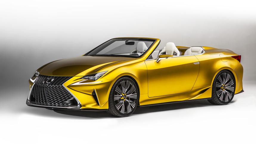 Lexus LF-C2 Concept, ¿el adelanto del RC descapotable?