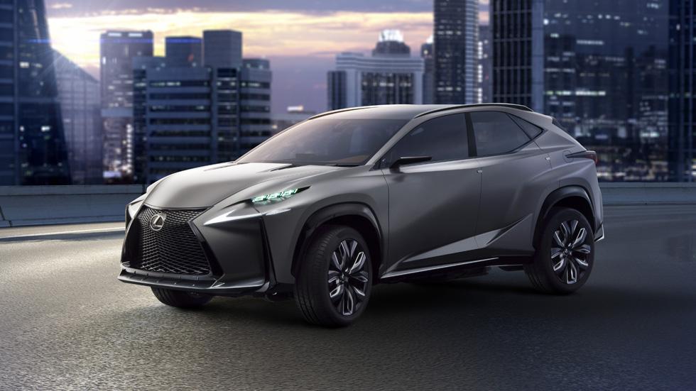 Lexus LF-NX Concept, SUV deportivo a la vista