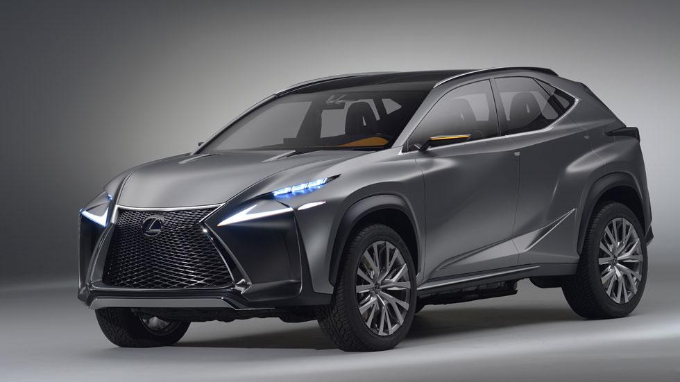 Lexus LF-NX Crossover Concept, SUV 'musculado'