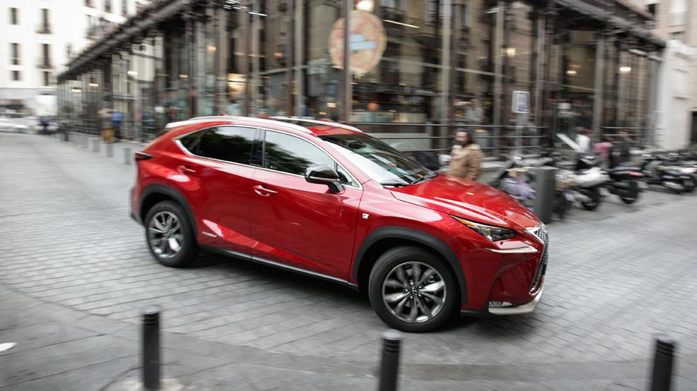 Prueba: Lexus NX 300h F-Sport, diseño y eficiencia entre los SUV