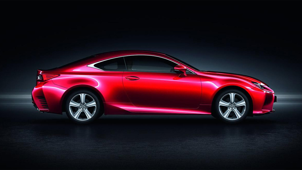 Lexus RC, ahora con motor turbo de gasolina y 245 CV