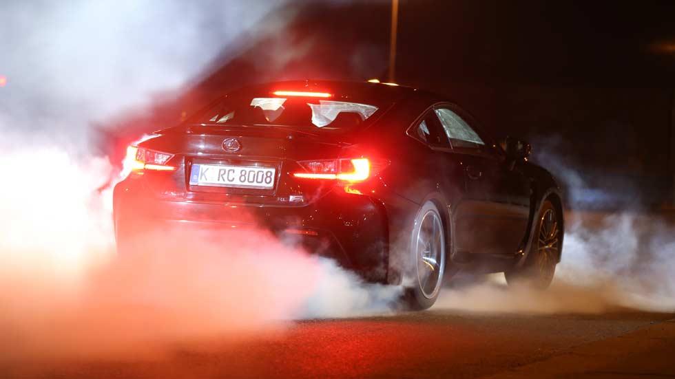 Prueba: Lexus RC F, deportivo samurái