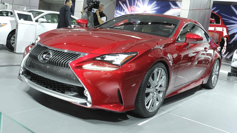 Lexus RC F, rabia nipona con más de 450 CV