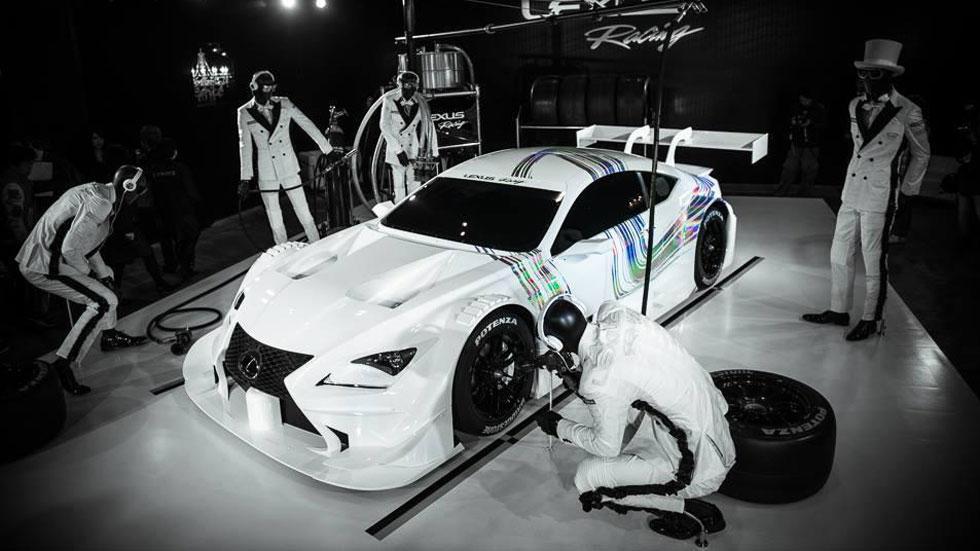 Lexus RC F GT500, espectacular competidor