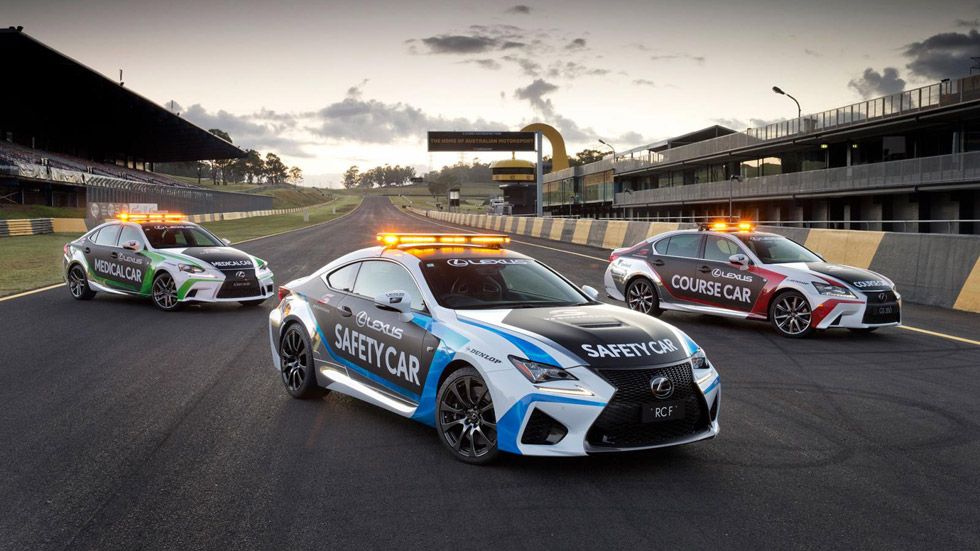 Lexus RC F, nuevo Safety Car de los V8 Supercars australianos