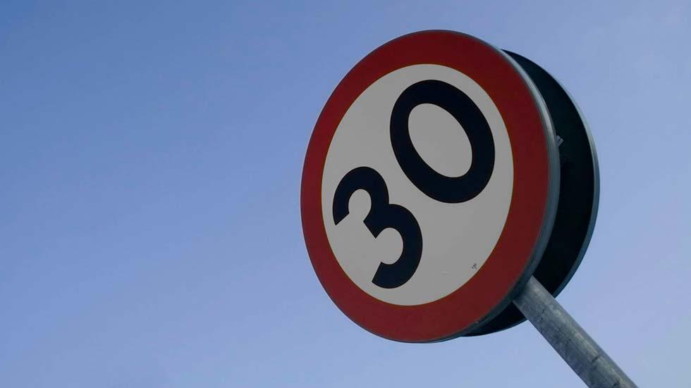 En las calles a 30 km/h: muy pronto en su ciudad