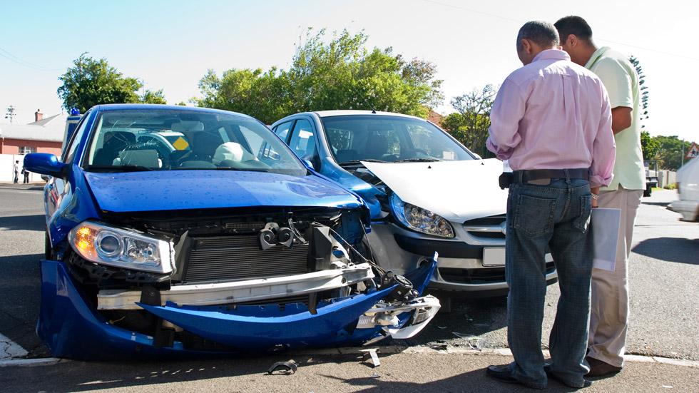 Los accidentes leves bajan en 2013