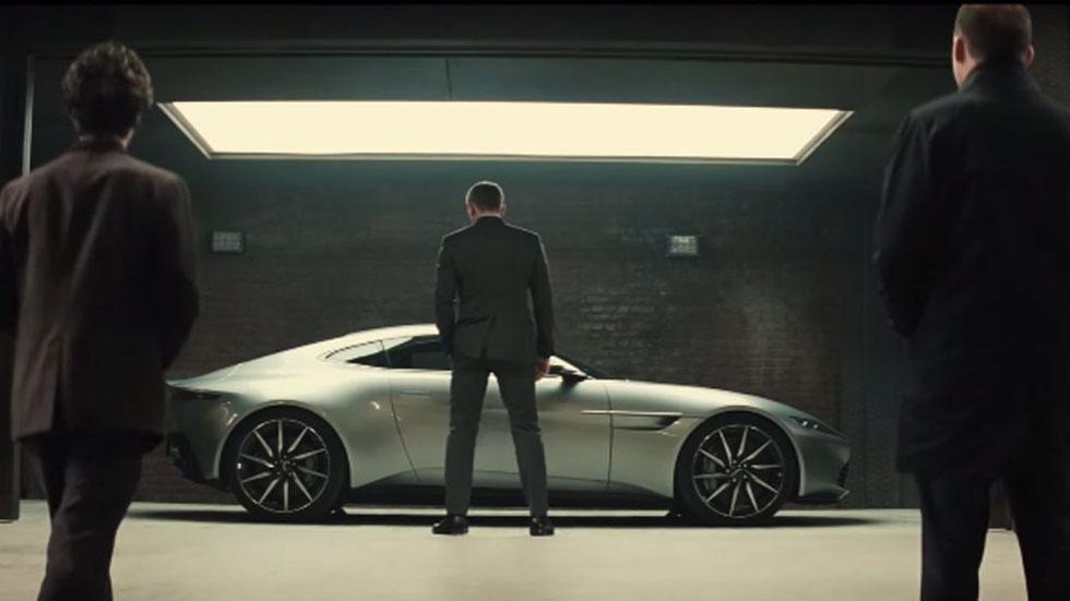 En acción, los coches de Spectre, la última de James Bond