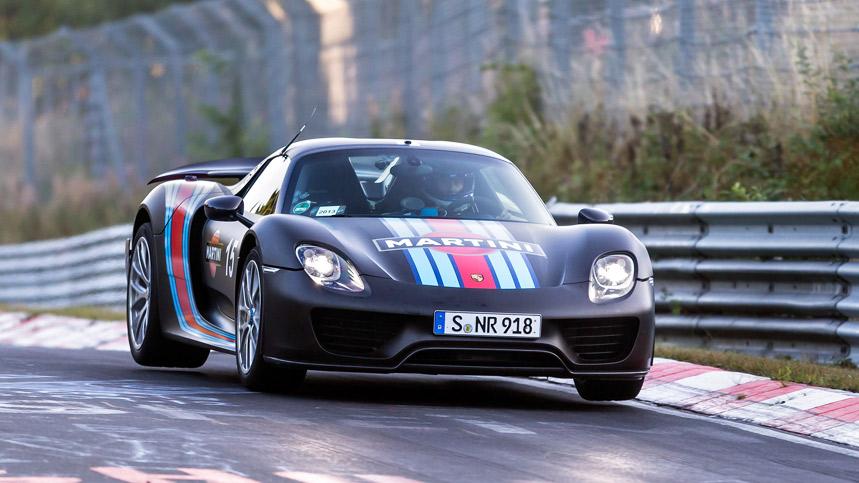 Los coches más rápidos en Nürburgring
