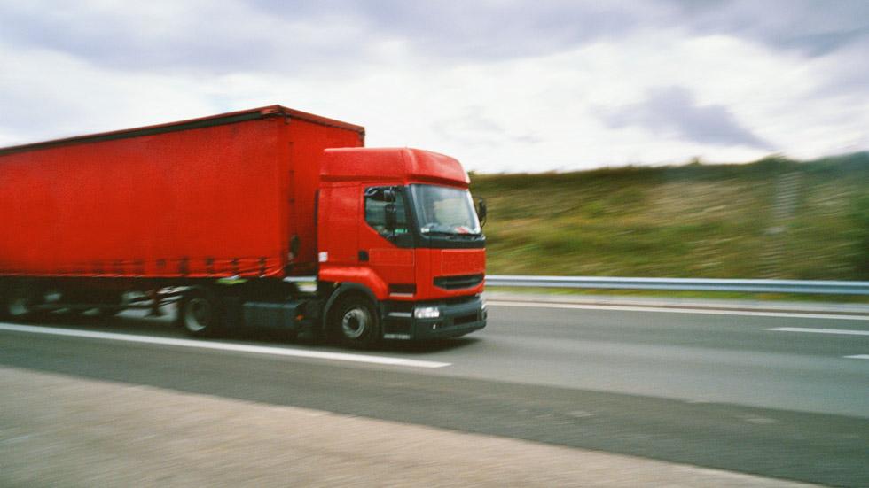 Los conductores profesionales se pasan de velocidad