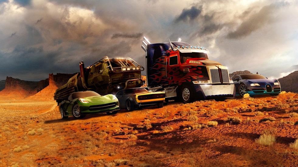 Los nuevos coches de Transformers 4, La Era de la Extinción