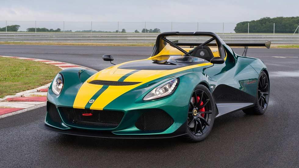 Lotus 3-Eleven, máxima adrenalina deportiva