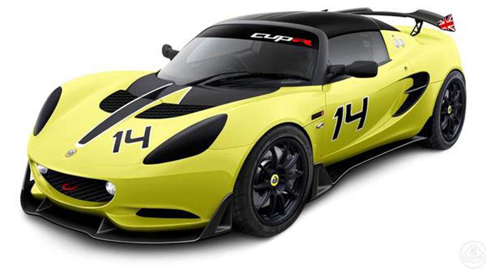 Lotus Elise S Cup R, todo competición