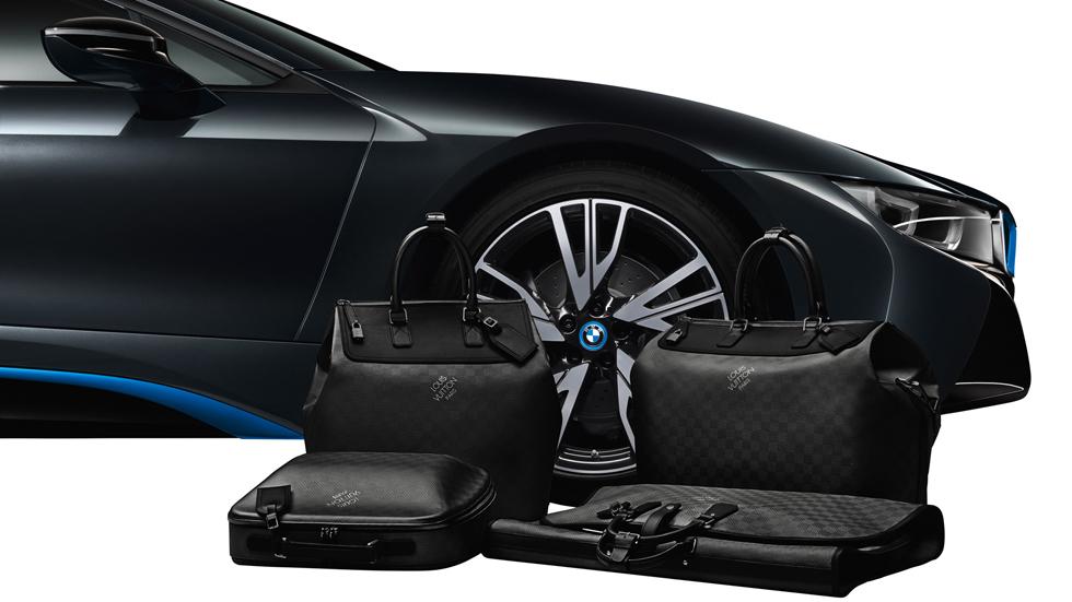 Louis Vuitton diseña un juego de maletas para el BMW i8