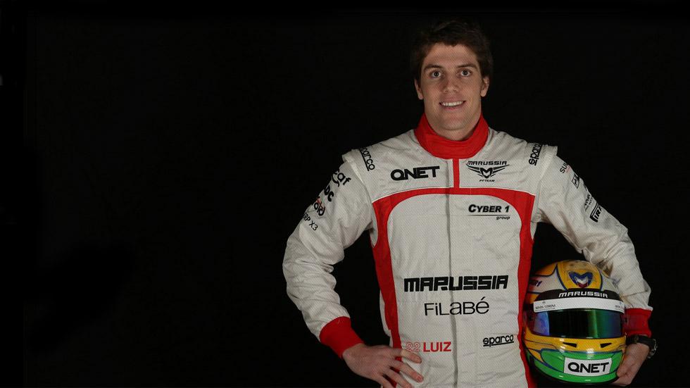 Marussia confirma a Luiz Razia como piloto oficial