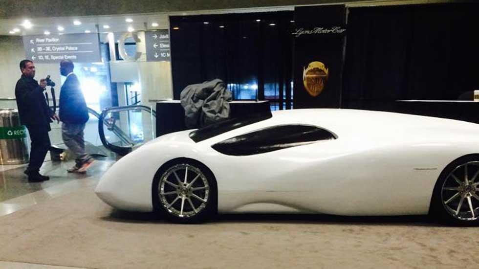 El supercoche de 1.700 CV de Lyons Motor Car