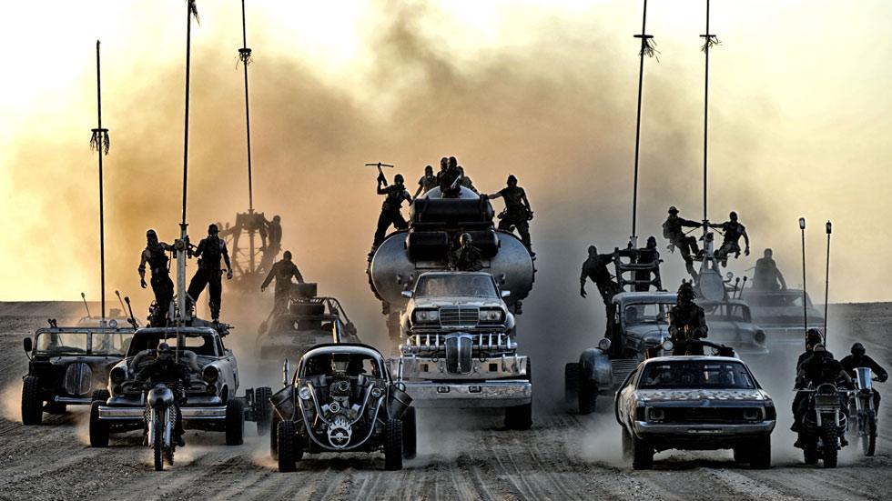 Los coches de Mad Max